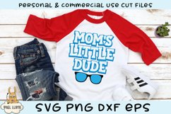 Mom's Little Dude SVG Product Image 1