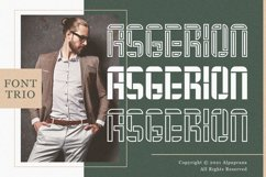 Asgerion - Display Font Trio Product Image 1