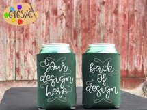 Can Cooler Mockup Bundle 33 Color Choices Product Image 14