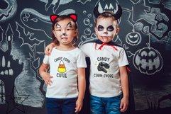 Candy Corn-ivore SVG - Dinosaur SVG - Halloween SVG Product Image 2