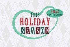 This Holiday Season - Christmas font and Extras Product Image 1