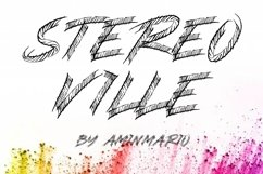 STEREO VILLE Product Image 1