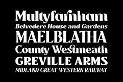 Mullingar Display Typeface Product Image 3