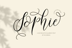 Sophie Product Image 1