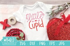 Little Cupid   Cute Valentine's Day Baby SVG Product Image 1