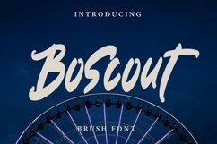 Web Font Boscout - Brush Font Product Image 1