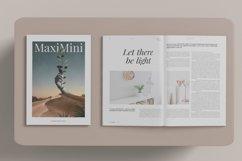 Minimalist Magazine Mockup Product Image 5