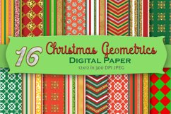 Christmas Digital Paper Pack Product Image 1