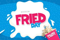 Fried Day Font Family (4 Fonts) Product Image 1