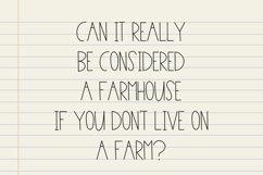Plain Write - A Simple Monoline Farmhouse Font Product Image 3