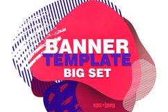 Banner instagram template big set Product Image 1