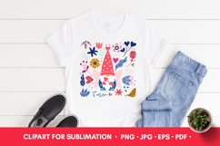 Valentine PNG Valentines Sublimation Gnome PNG Product Image 2