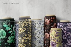 ANEMONE watercolor patterns set Product Image 3