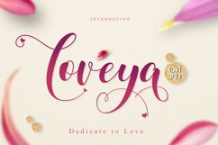 Loveya Script (Font Duo + Extras) Product Image 1