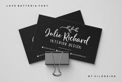 Love Betteria a Lovely Font Duo Product Image 6