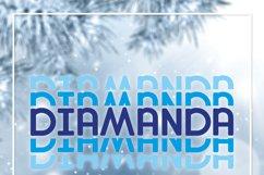 Diamanda Stacked - Retro Font Product Image 8