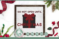 SVG   Do Not Open Until Christmas Product Image 3
