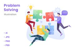 Problem Solving Illustration Product Image 1