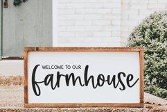 Farmhouse Magic - A Handwritten Script Font Product Image 2