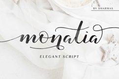 Monatia - Elegant Script Product Image 1