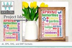 Spring SVG - Spring Subway Art Product Image 1