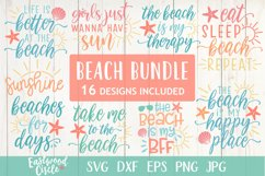 Beach SVG Bundle - Cut Files for Crafters Product Image 1