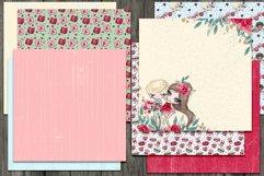 Valentine's Digital Paper Pack Product Image 3
