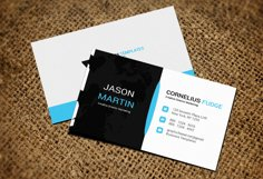 Black Business Card Product Image 2