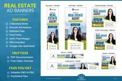 Real Estate Agent Animated Ad Banner Template - RE002 Product Image 1