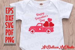 Valentines Day Truck Svg Valentines SVG Love Svg Valentine Product Image 3
