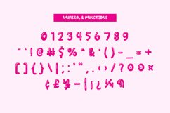 Gingies Bubble - Handwritten Font YR Product Image 5