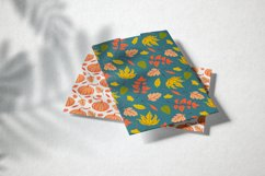 Hello autumn. Collection of vector elements and pattern Product Image 6