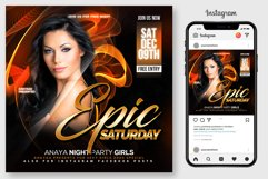 Epic Sound Flyer Template Product Image 1