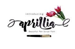 Aprillia Script Product Image 1