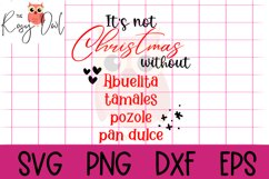 It's not Christmas Without SVG   Latino Christmas SVG Product Image 2