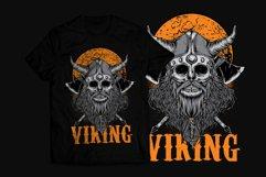 Viking T-Shirt Design Product Image 1