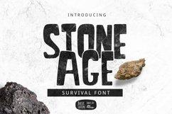 Stone Age Font Product Image 1