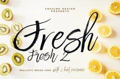 Fresh Brush Font Product Image 1