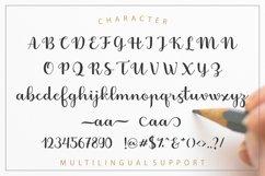 Fabitha Script Upright Product Image 6