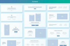 Collector Wireframe Web Kit Product Image 4