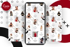 Fashion Minimalist Instagram Puzzle Preset for Canva Product Image 9