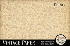 Vintage Paper Backgrounds - Vintage Texture Digital Papers Product Image 4