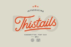 Thistails Font Duo Product Image 1