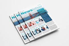 Business Newsletter Template Product Image 1