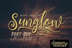 Sunglow Font Duo Product Image 1