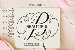 Beautiful Monogram Calligraphy Product Image 1