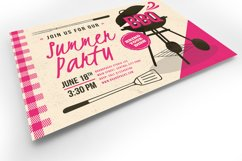 Retro BBQ Flyer Template Product Image 4