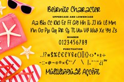 Beirnite - a Quirky Script Font Product Image 6