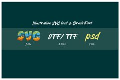 ROCK on RAWK   SVG Font Duo Product Image 4