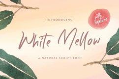 White Mellow - Handwritten Script Font Product Image 1